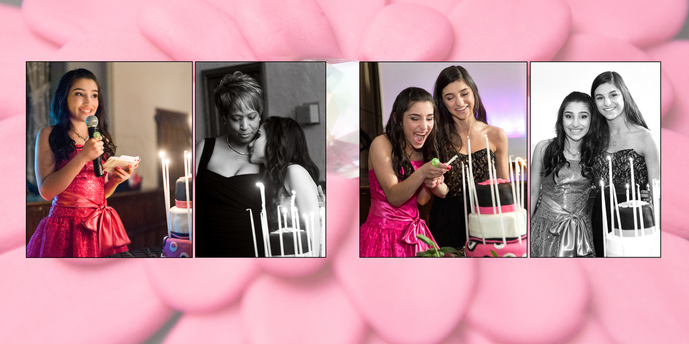 Bat Mitzvah Candle Lighting Portraits