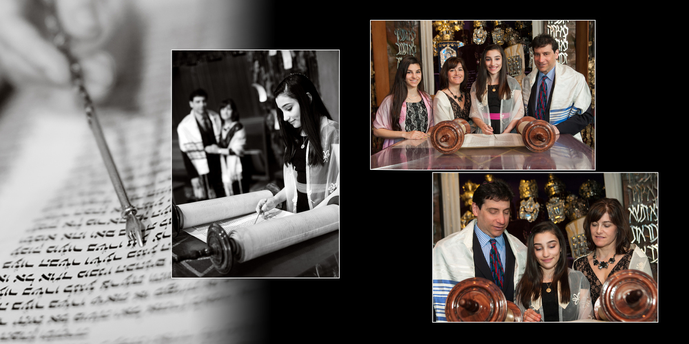 Bat Mitzvah Photography Custom Albums