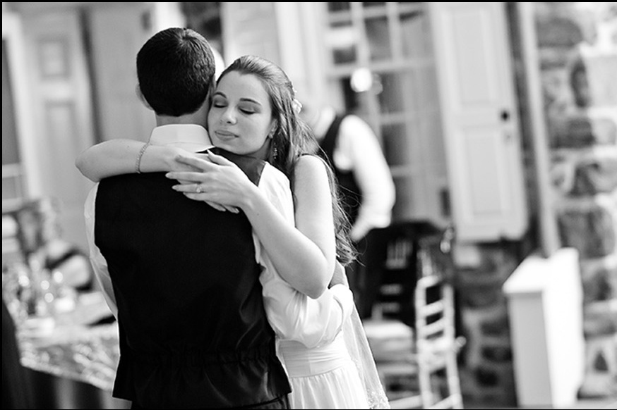 Black-White-First-Dance-Wedding-PhotographyA