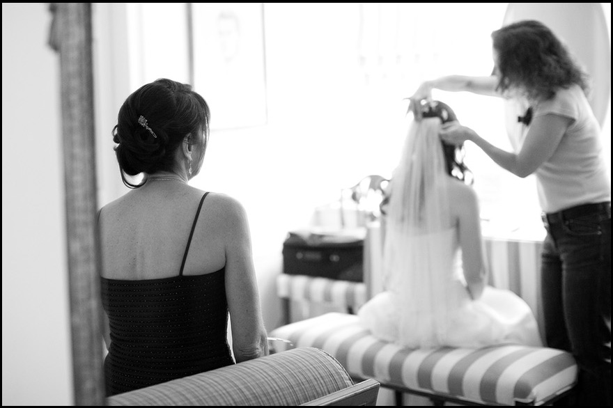 Black-White-Wedding-Getting-Ready-Photo