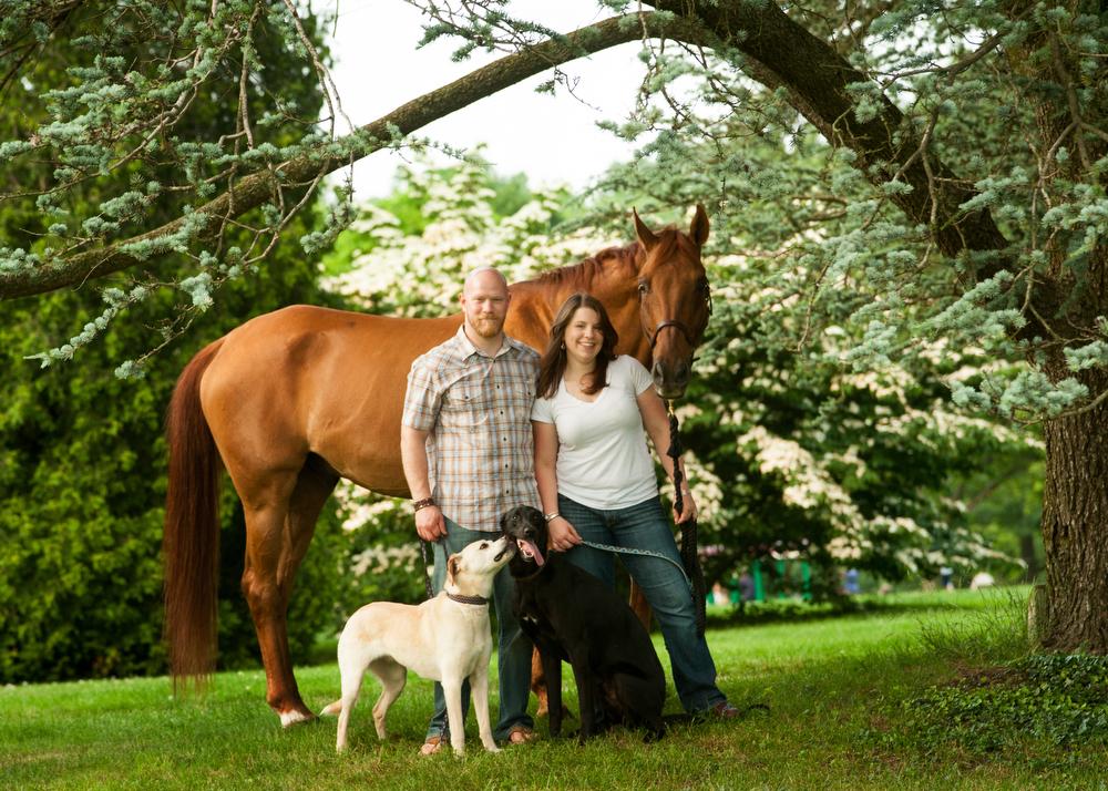 Engagement-Photos-Animals-Outdoors-Philadelphia-Photography