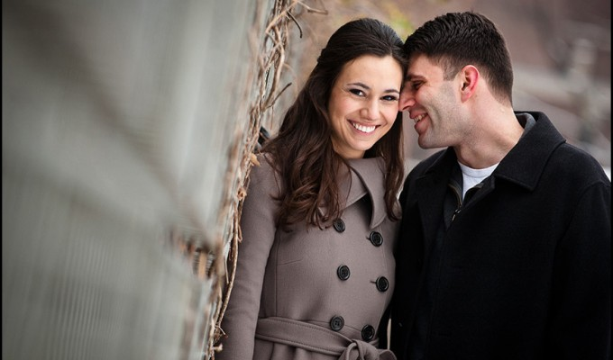Marie and Fred's Engagement Session Photos in Philadelphia