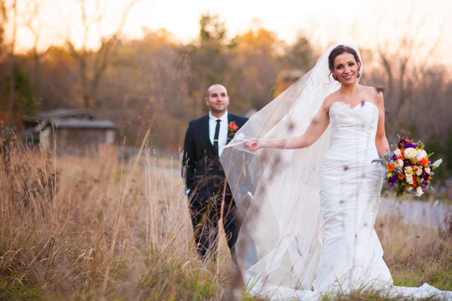 Wedding-Portrait-Outdoors-Holly-Hedge-Estate