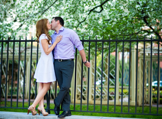 Megan & Phil's Engagement Session | Downtown Philadelphia
