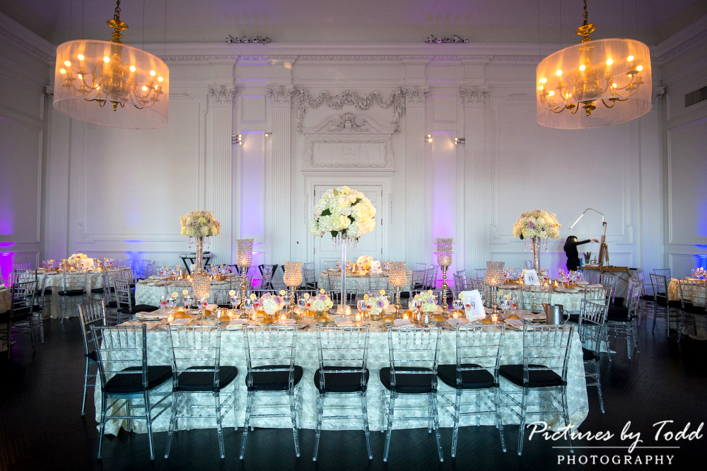 Downtown Club Beautiful Blooms Kaleidescope Wedding Photographer Philadelphia