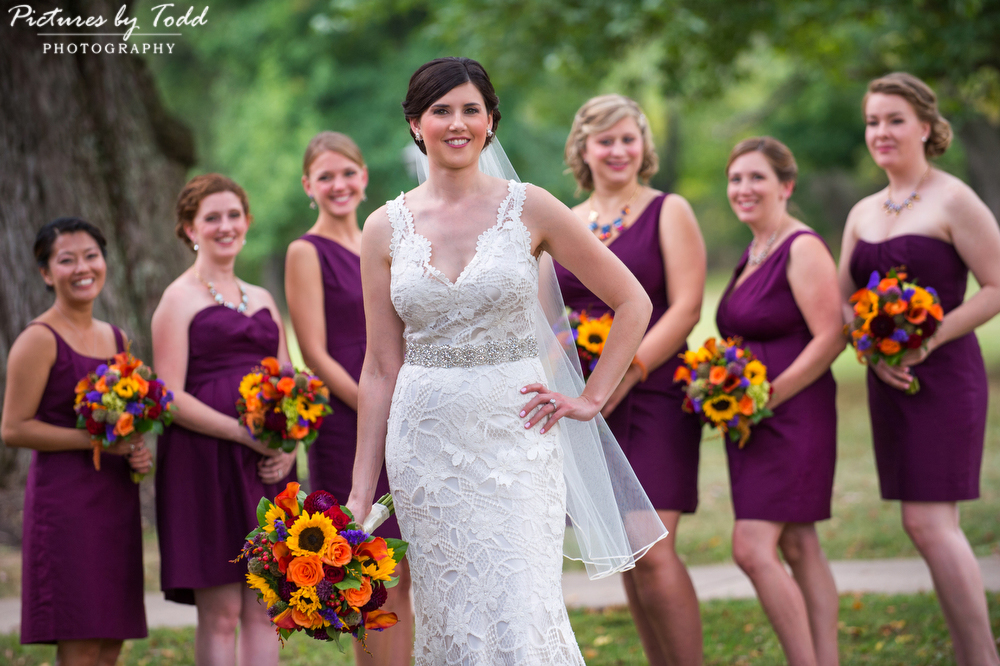 Pictures-By-Todd-Bridesmaids-Orange-Sunflowers