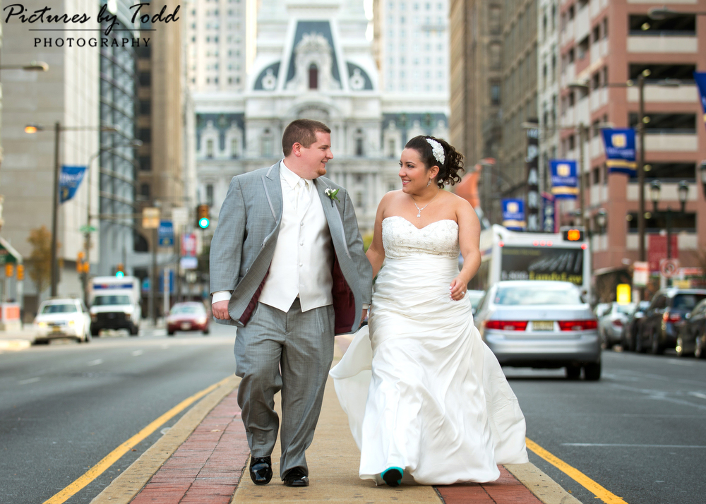 Unique philly wedding