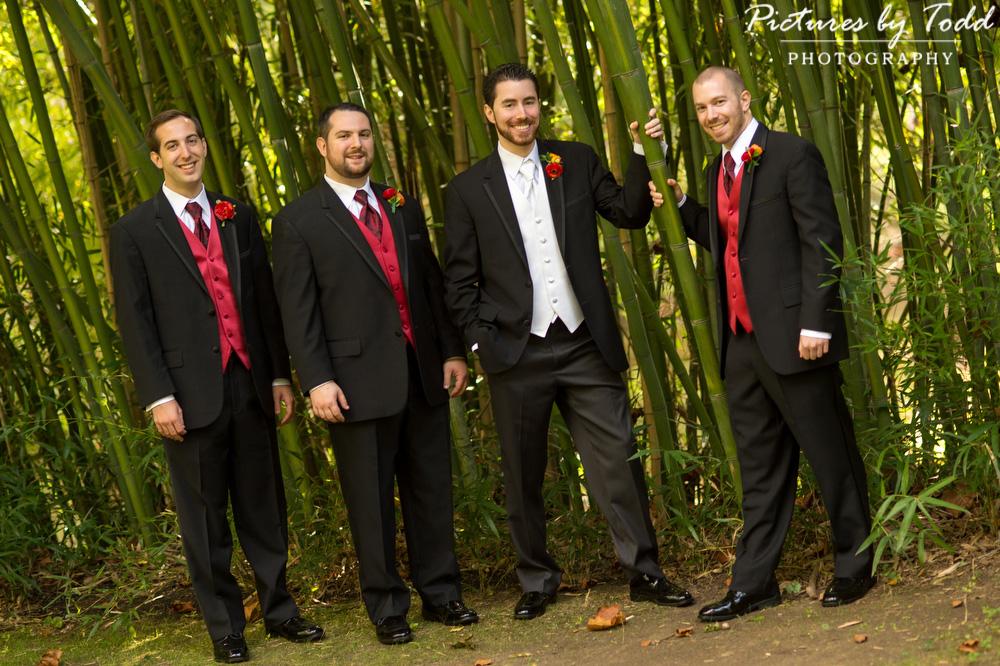 Groomsmen-Old-Mill-Rose-Valley-Bamboo-Garden