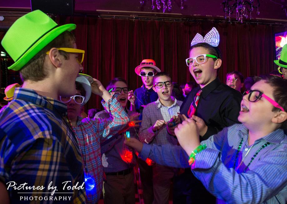 Black-Light-Party-Bar-Mitzvah-Photography