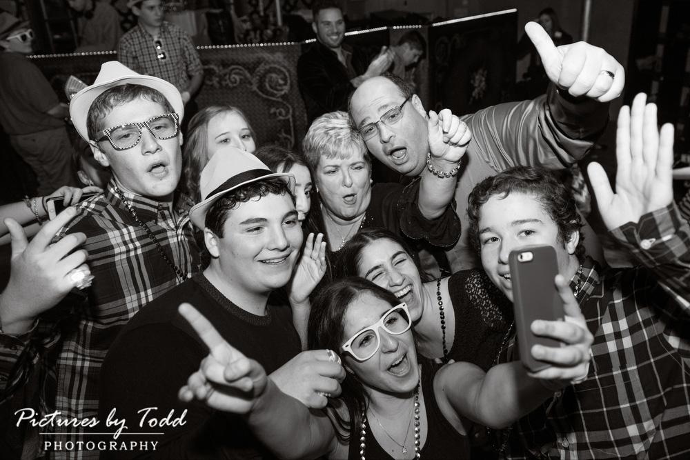 Black-White-Candid-Selfies-Bar-Mitzvah