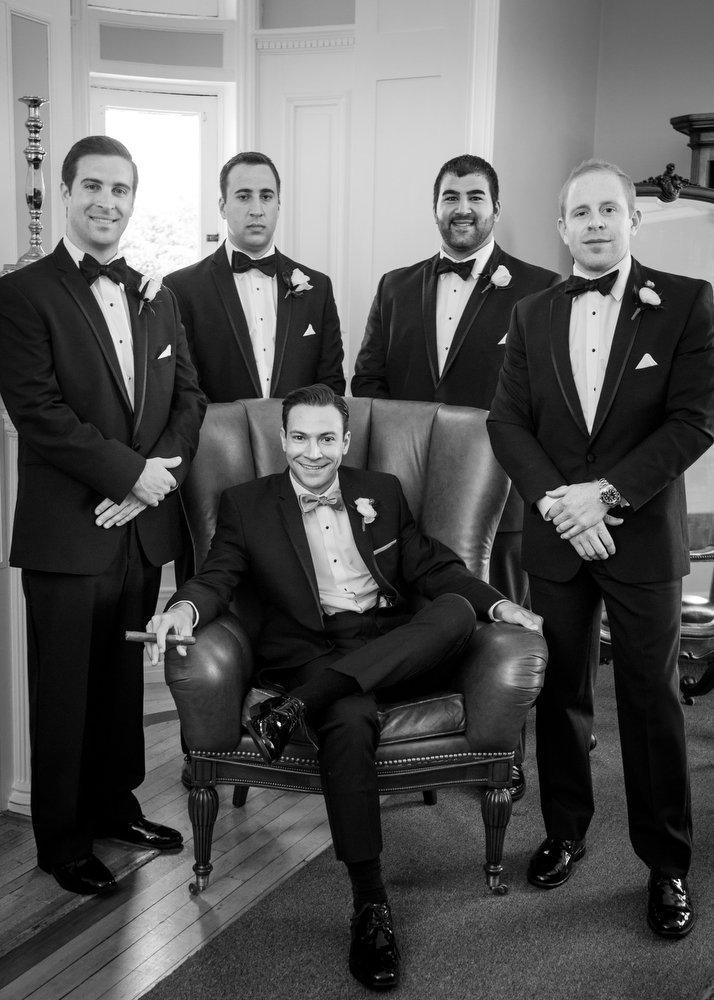 Black-White-Wedding-Photography-Groomsmen