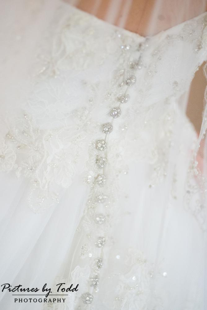 The Wedding Shoppe Dress Silver Beading
