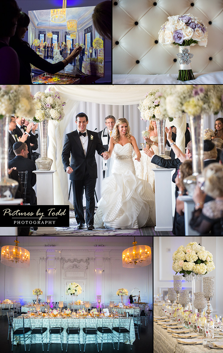A Glamorous Jewish Wedding at The Downtown Club