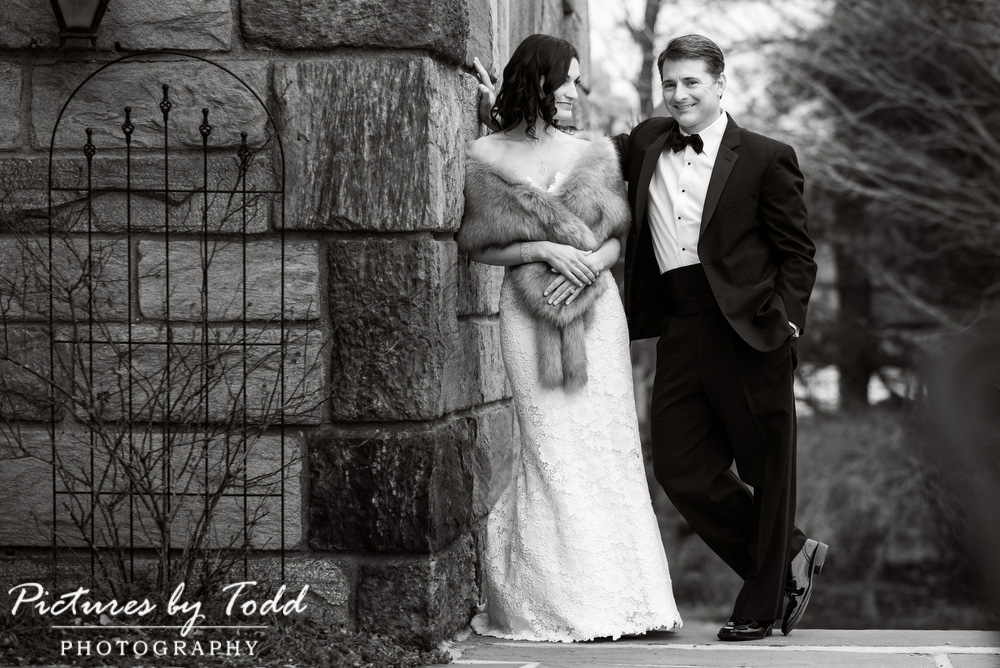 Merion-Tribute-House-Wedding-Photos-Black-White