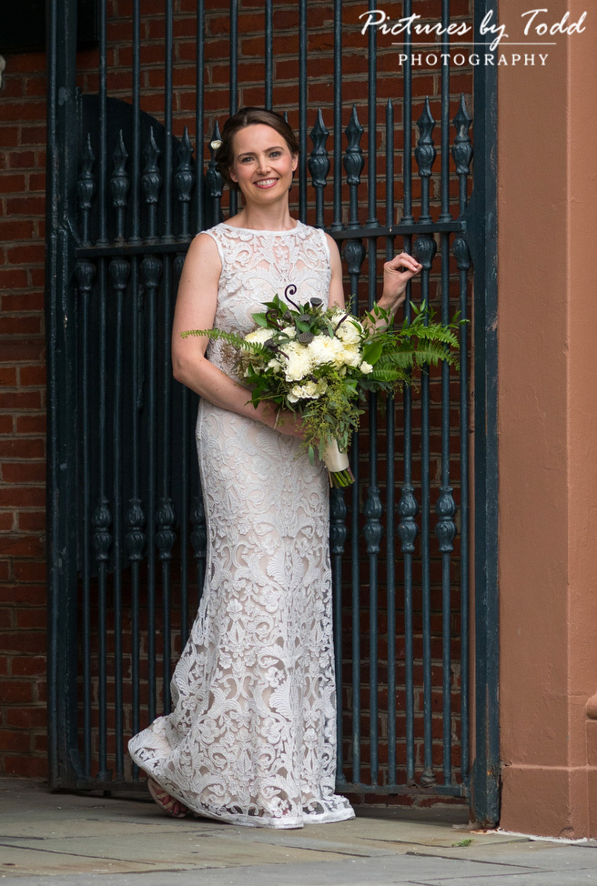 BHLDN-Wedding-Dress-Downtown-Philadelphia-Wedding-Beautiful-Blooms-Pictures-By-Todd