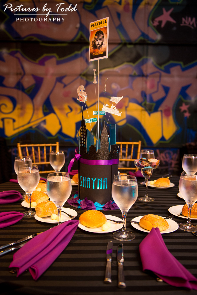infinity-catering-bat-mitsvah-theater-theme-table