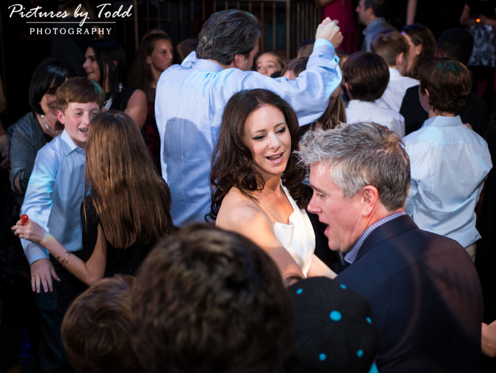 beat-street-manayunk-family-friends-philadelphia-photographer-bar-mitzvah-dance-fun-hora-mother-happy