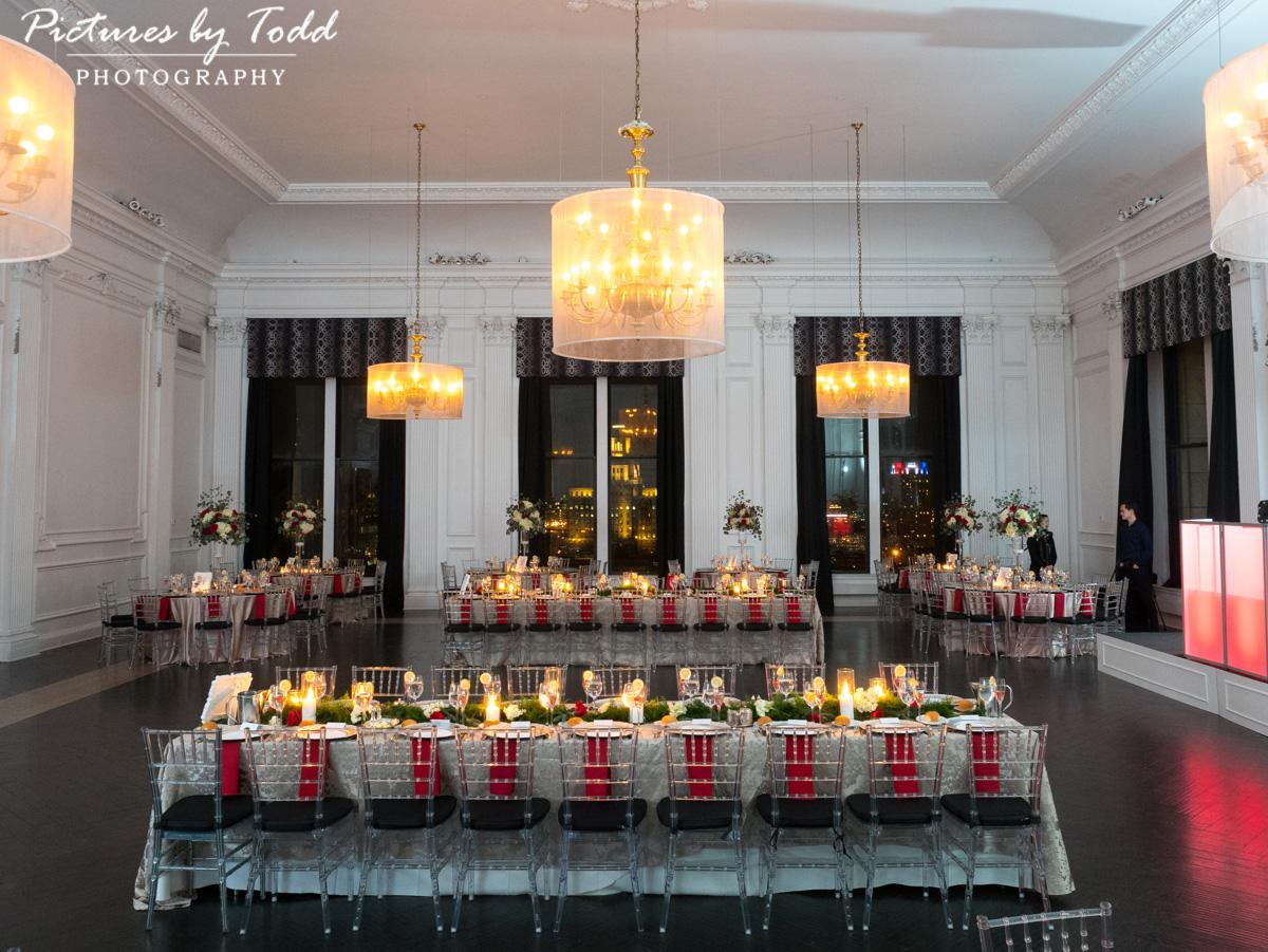 Green Wedding Table Decor