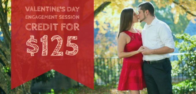 Valentine's Day Engagement Session | Limited Time Offer