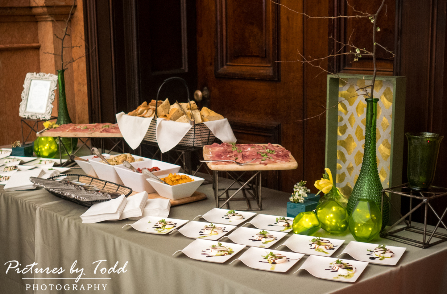 One North Broad Street Venue Opening House by Catering By Design and Garnish of Philadelphia, A High End Venue Like No Other of The City of Philadelphia.