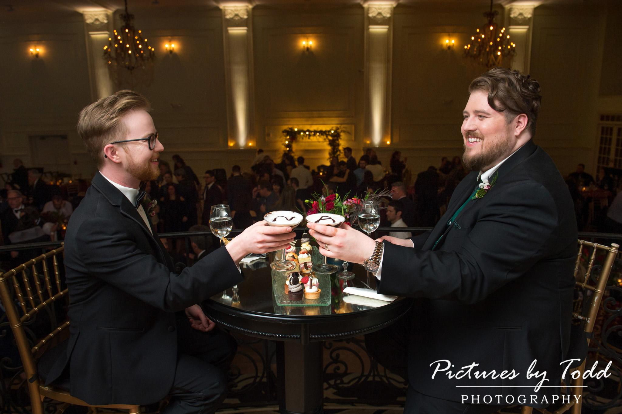 Andrew & Nicholas' Wedding | Cescaphe Ballroom