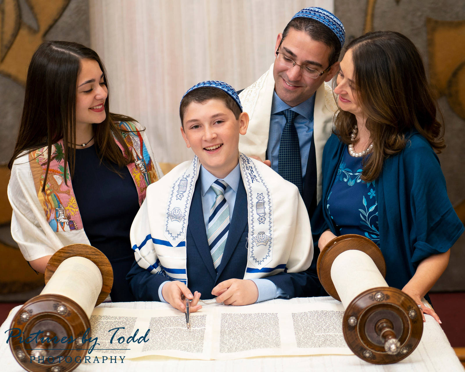 Bar Mitzvah Photography Family