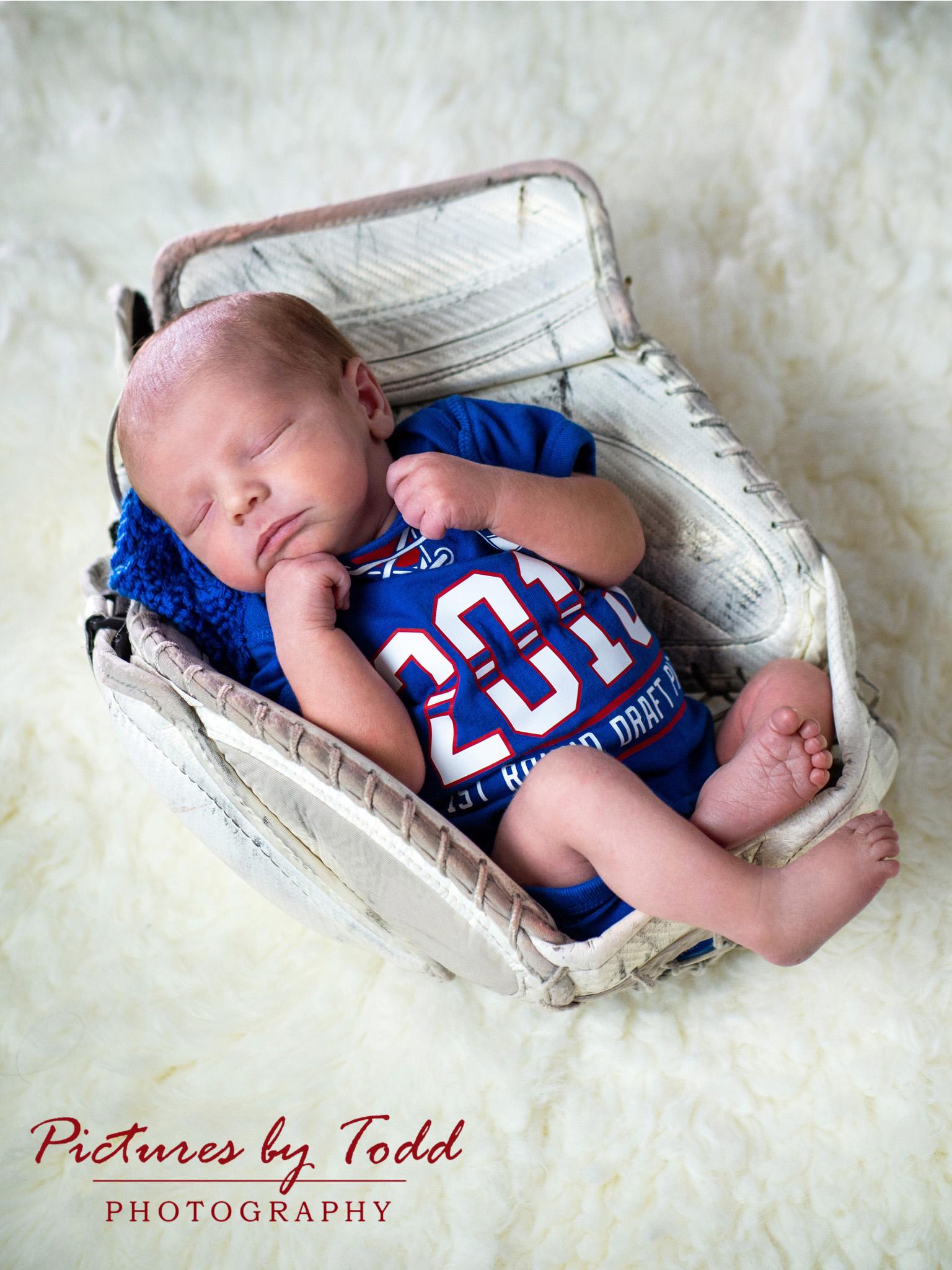 RJ's First Portrait Session | Newborn Portraits