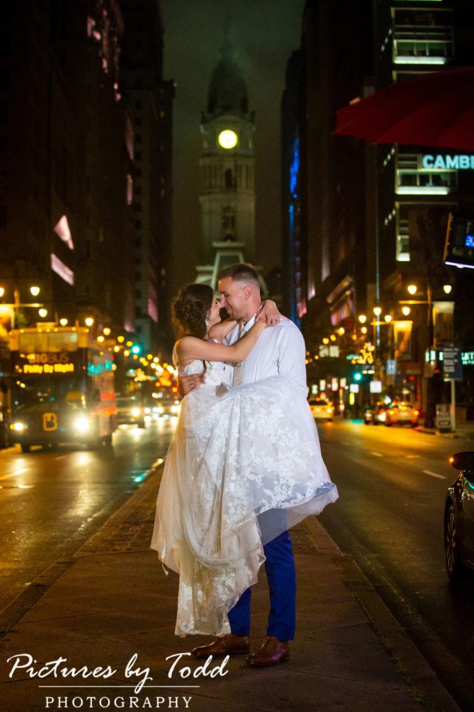 Sara & Goran's Travel Theme Wedding | Kimmel Center