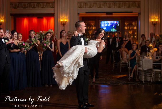 Kate & Bradley's Ballroom at the Ben Wedding