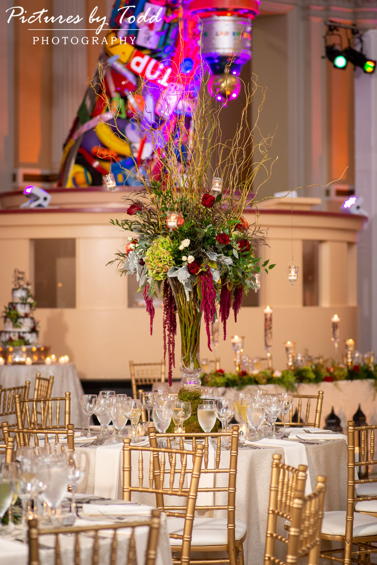 Carl Alan Floral Design Please Touch Museum Wedding Brulee Catering