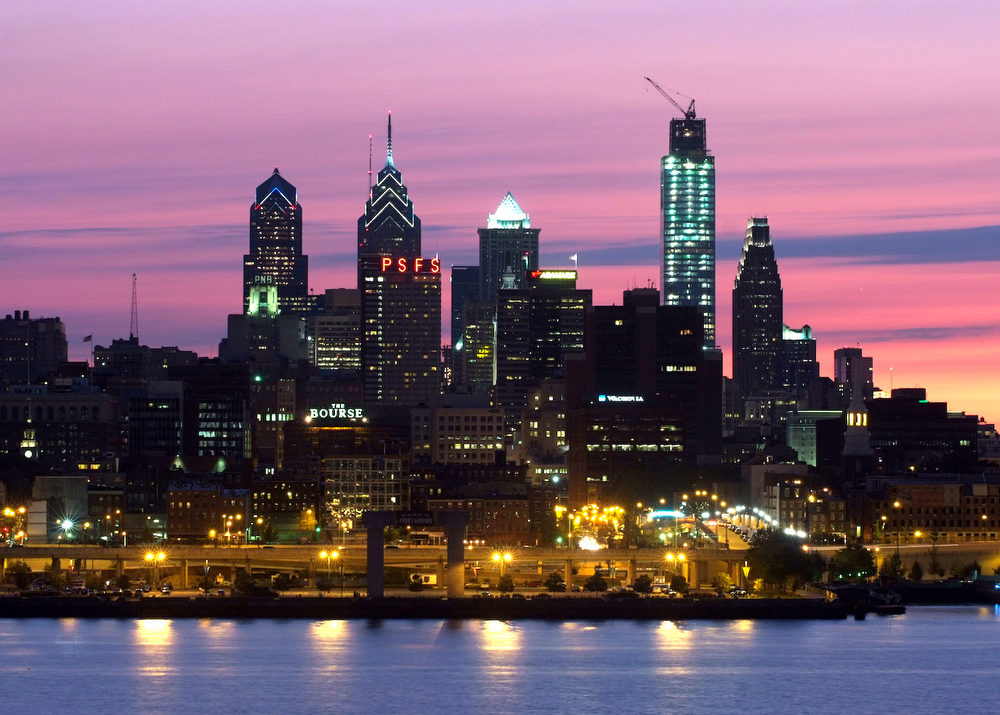 Architectural-Photography-Philadelphia-Skyline