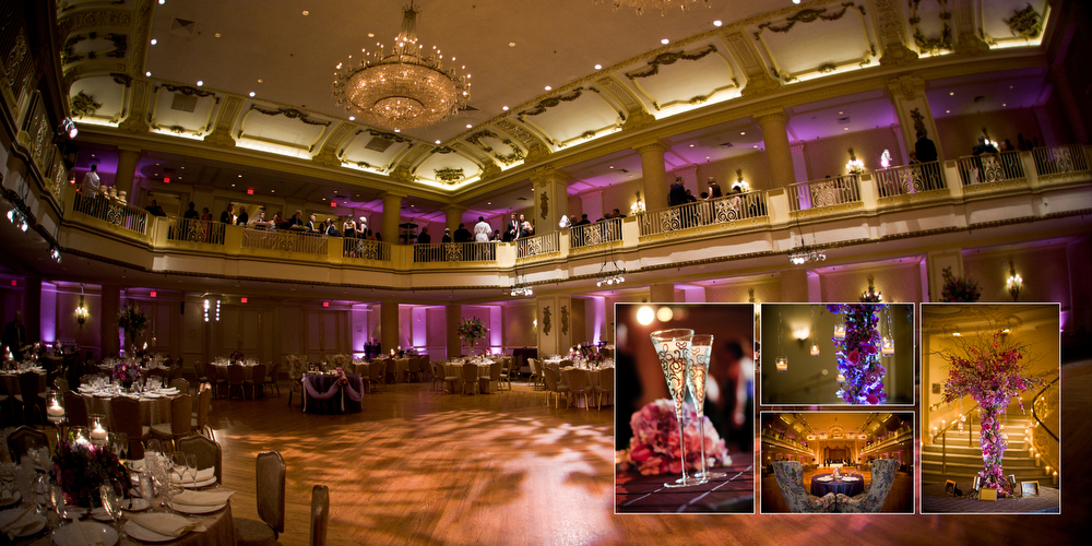 Bellevue Hotel Ballroom Wedding Reception Package Hyatt
