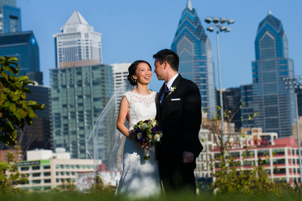 Philadelphia-Wedding-Skyline