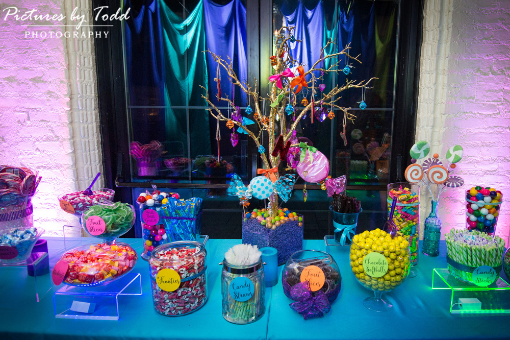 Aldie Manison Party Photos Bat Mitzvah Candy Bar Ideas Pictures By Todd Photography