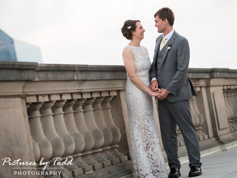 Beautiful-Blooms-The-Free-Library-Philadelphia-Wedding-BHLDN-Dress-Roof-Top-Wedding