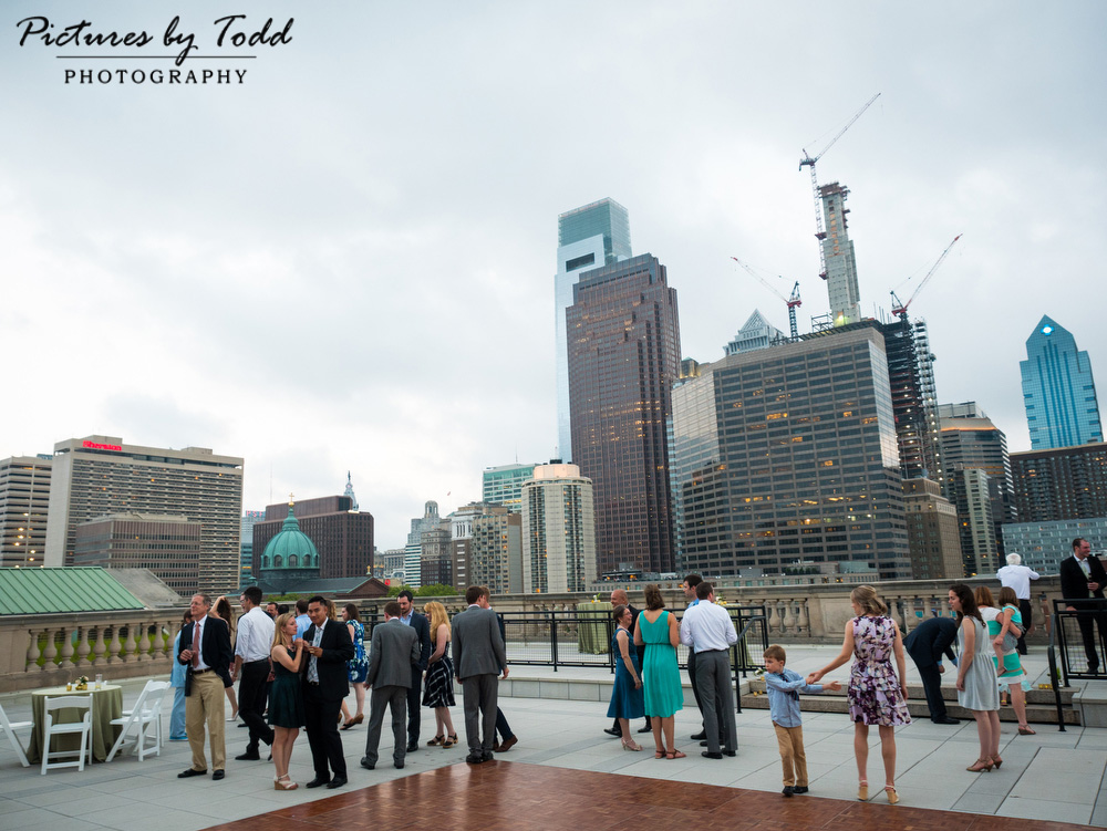 Beautiful-Blooms-The-Free-Library-Philadelphia-Wedding-Roof-Top-Cocktail-Hour