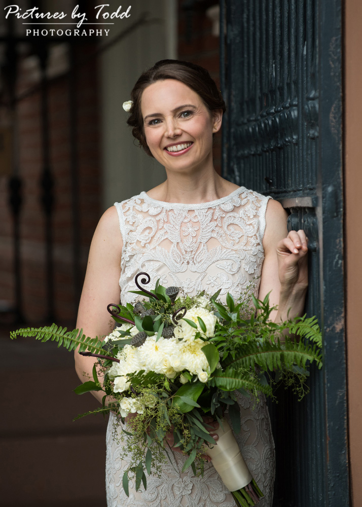 Beautiful-Blooms-Wedding-Bride-Bhldn-Wedding-Dress-Vine-Street-Philadelphia