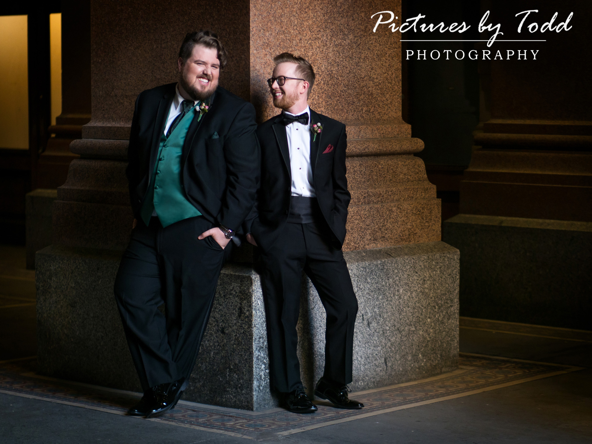 Gay-Wedding-Pictures-By-Todd-Photography-City-Hall-Center-City-Couple-Love-Portrait-Smile
